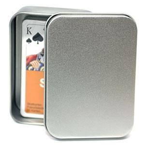 Spielkartendose spielkarten kartenspiele puzzles und for Kartenspiel selbst gestalten