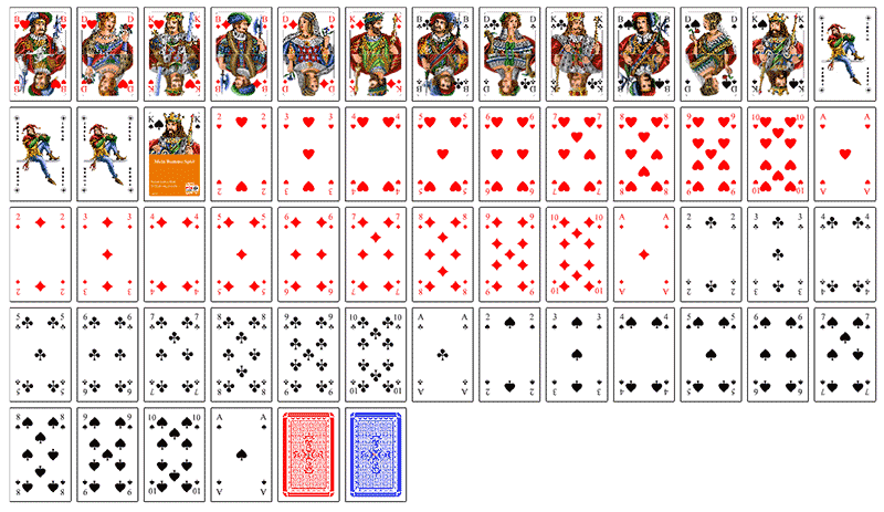 Rommé Karten