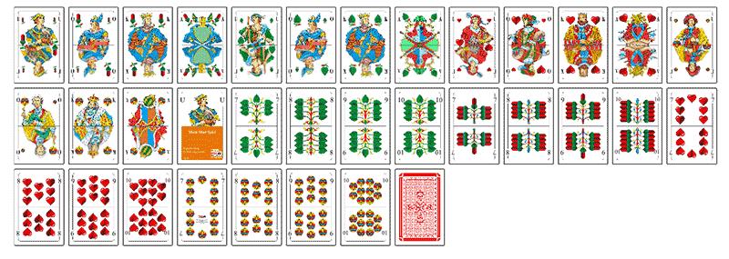 Altdeutsches Kartenspiel