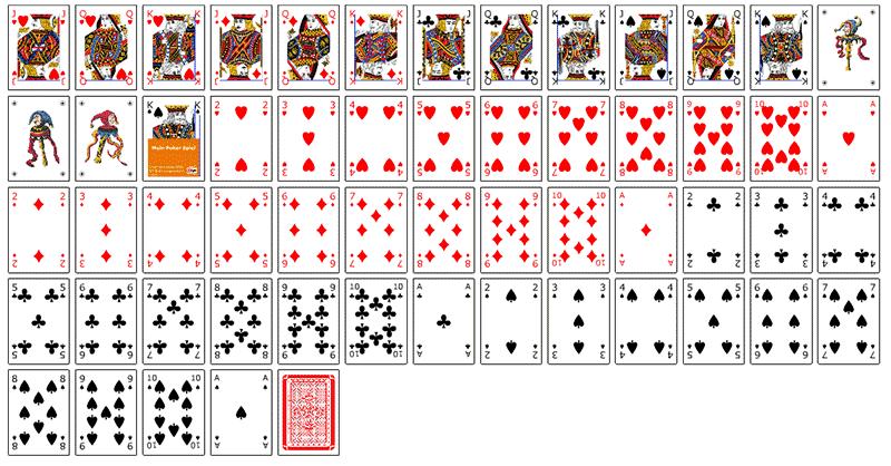 Pokerkarten Zum Ausdrucken