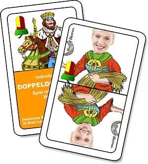 Doppeldeutsche und schnapskarten bedrucken for Kartenspiel selbst gestalten