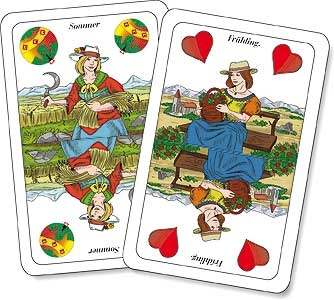 Doppeldeutsche mit logo oder werbung bedrucken for Kartenspiel selbst gestalten