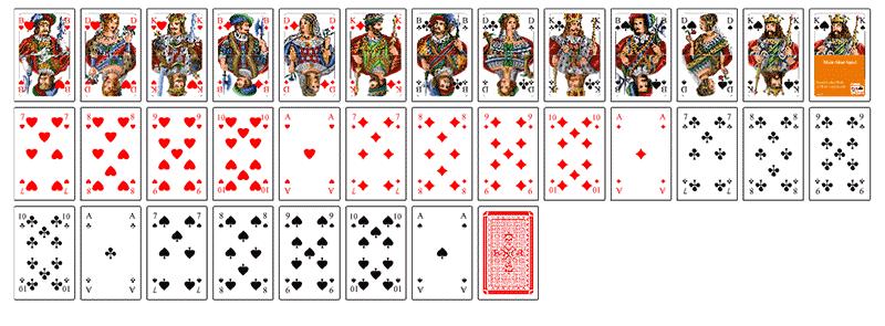 Kartenspiel Drucken